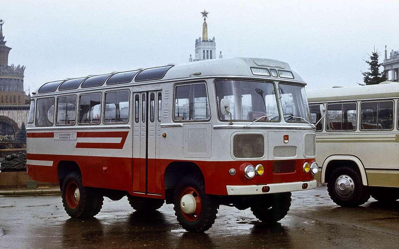 Автобусы изСССР— серийные иэкспериментальные— фото 1035341