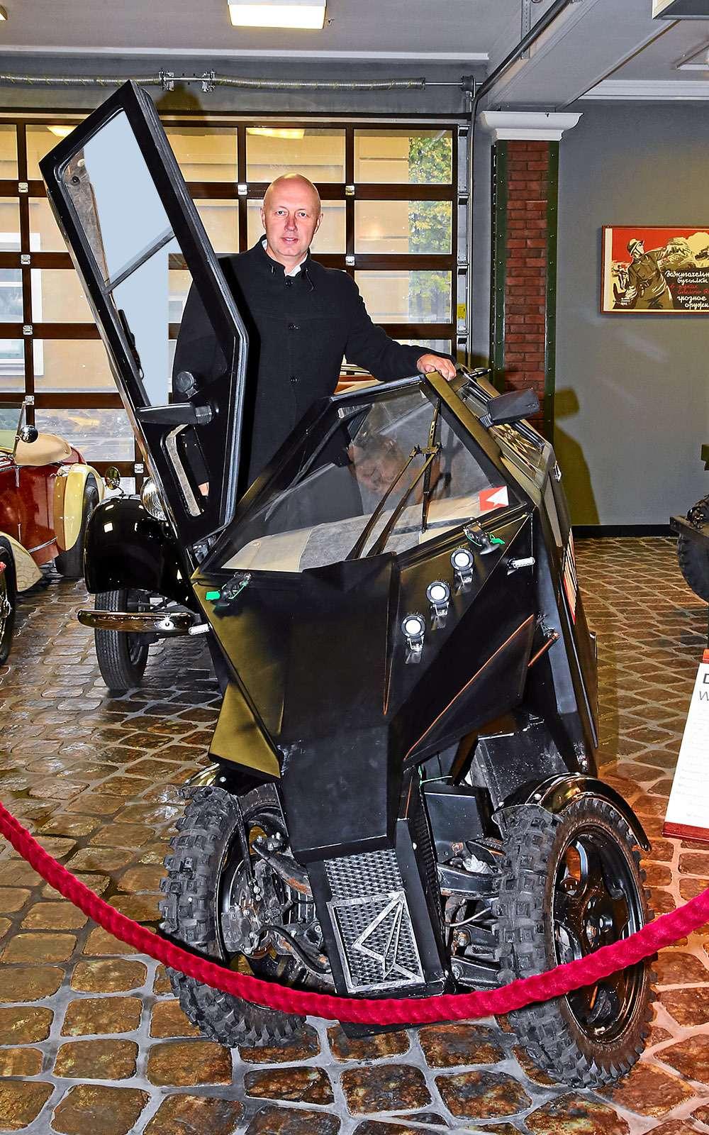 Трицикл МК-17: еще мотоцикл или уже автомобиль?— фото 680779