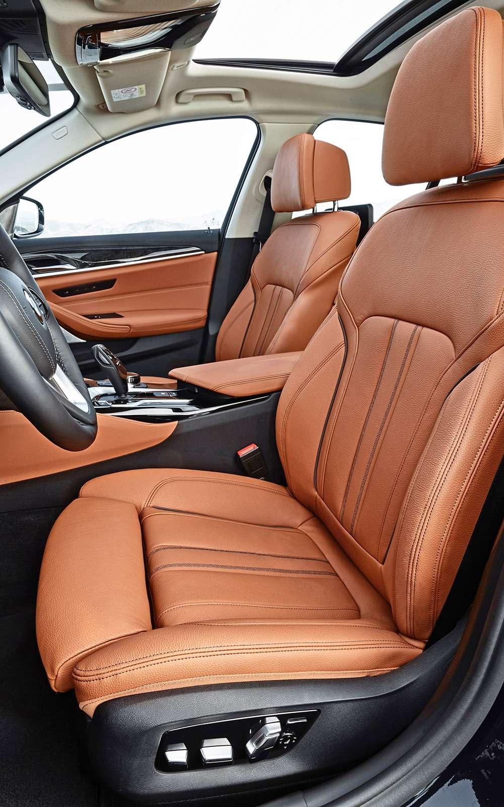 Тест новой «пятерки» BMW: большой брат— фото 685121