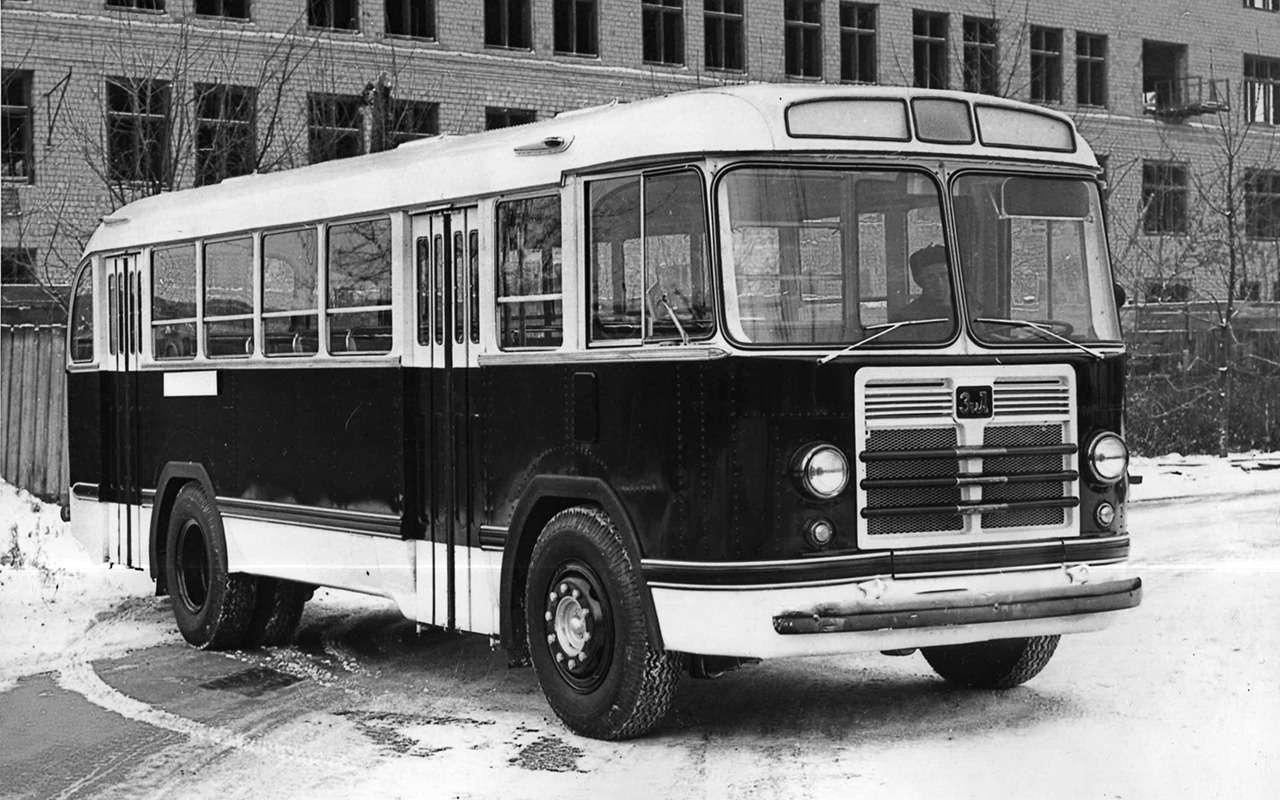 5 забытых советских автобусов, откоторых тепло надуше— фото 1271475