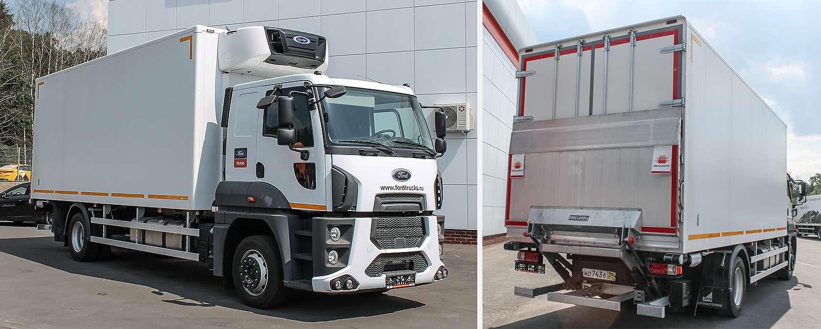 Новый 18-тонный грузовик Ford российской сборки— фото 1226830