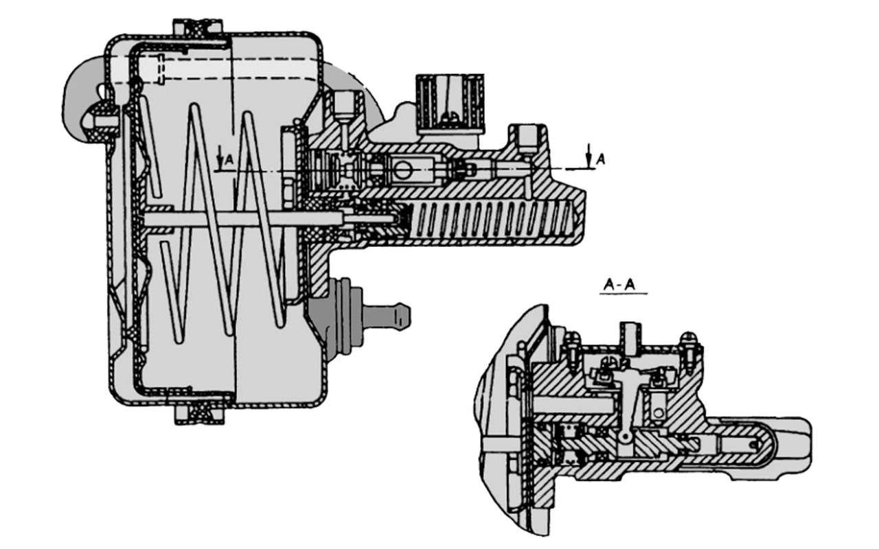 Чайка ГАЗ-14и ееамериканские «уши»— фото 1274117