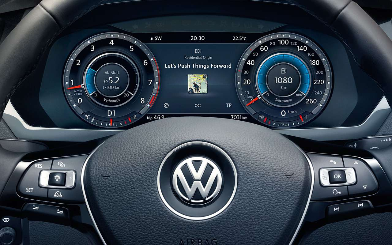 5 плюсов иодин минус Volkswagen Tiguan— фото 886327
