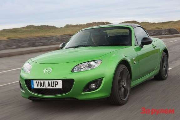 Mazda MX-5 Sport Black Edition front view