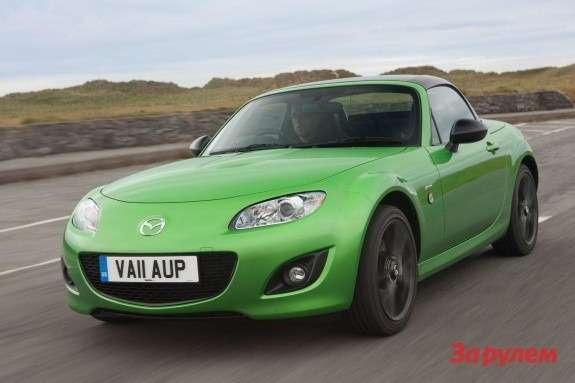 Mazda MX-5 Sport Black Edition front view