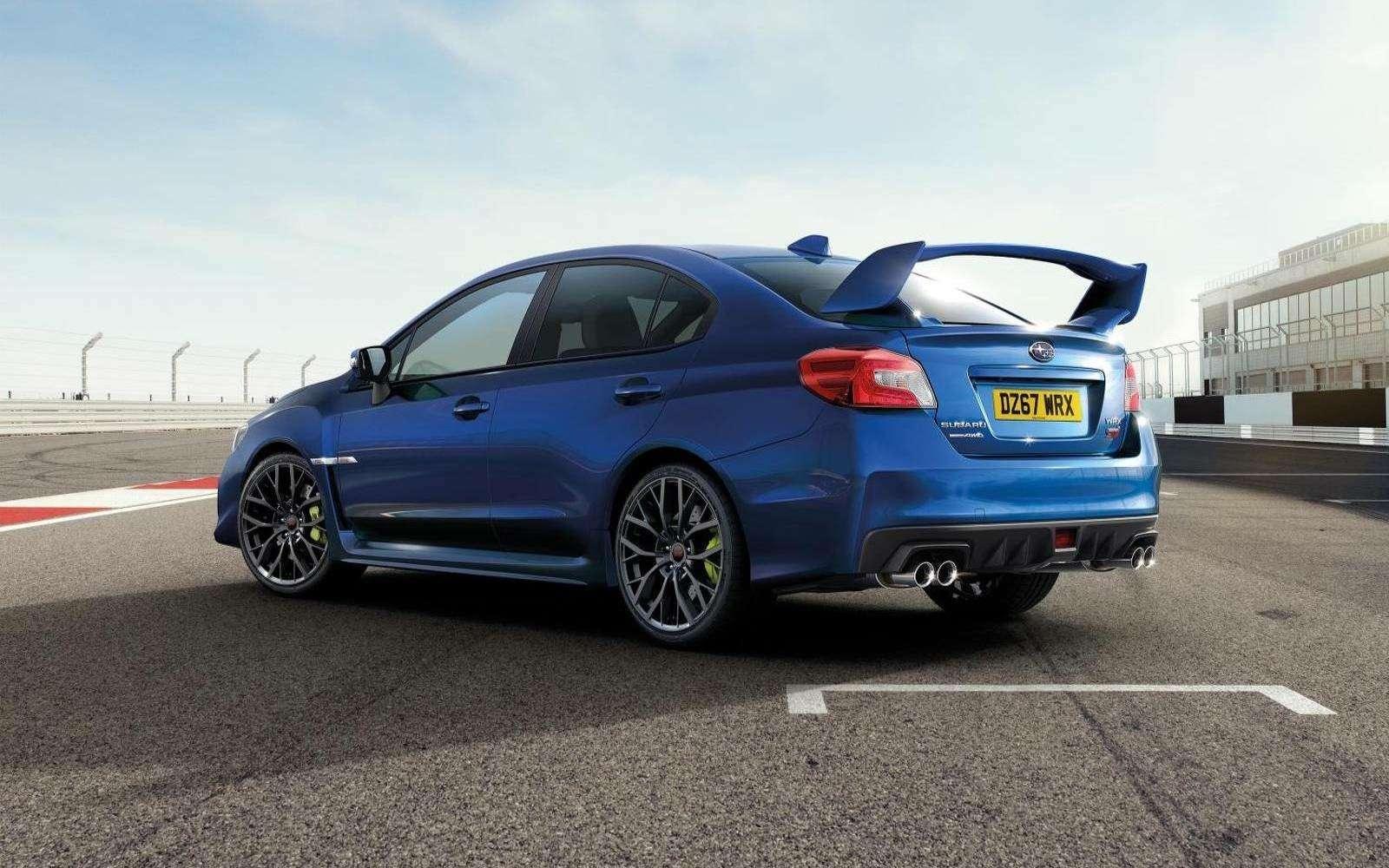 Subaru прощается сWRX STI— представлена финальная спецсерия— фото 812553