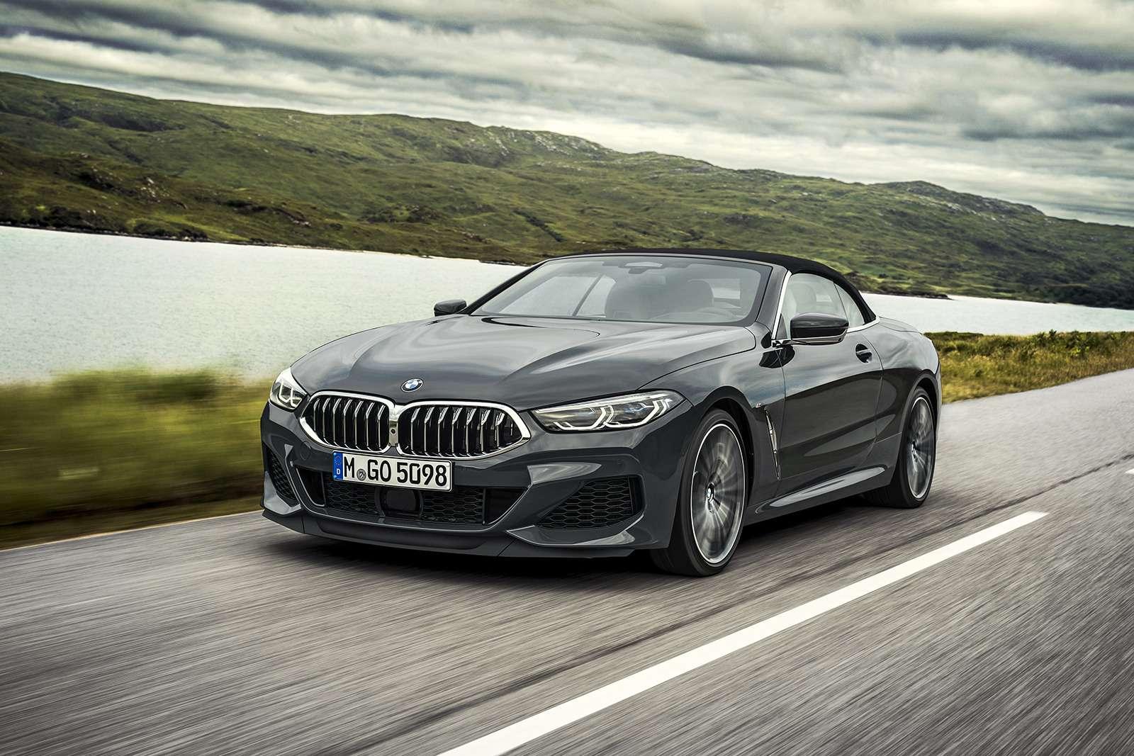 Кабриолет 8-й серии BMW: роскошь, открытая всем ветрам— фото 919723