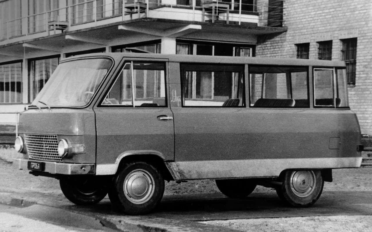 Тотсамый «рафик»: полная история главного микроавтобуса СССР— фото 1218799