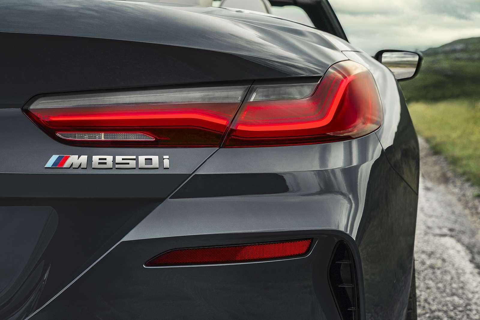 Кабриолет 8-й серии BMW: роскошь, открытая всем ветрам— фото 919724