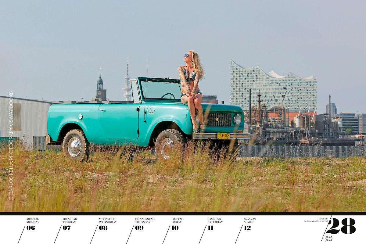 16красоток и29легендарных тачек Америки— ваш календарь-2020— фото 1003756