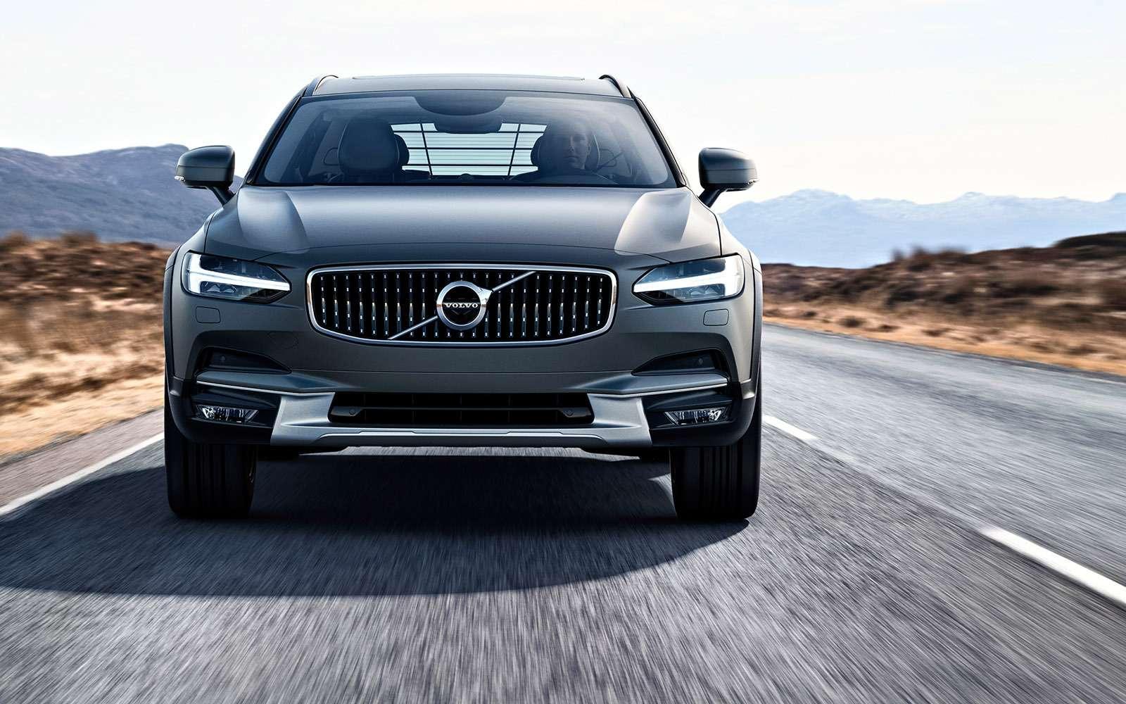 Новый Volvo V90 Cross Country: нечемодан!— фото 654911