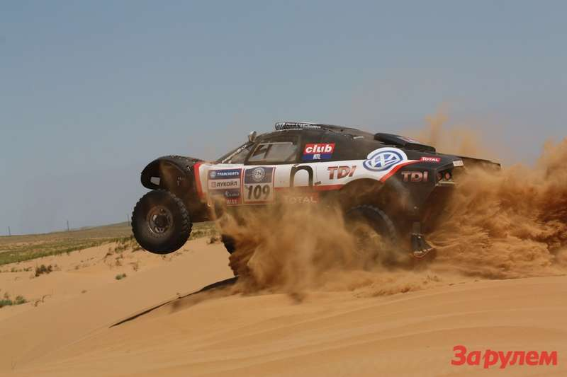 AUTO — SILK WAY RALLY 2011