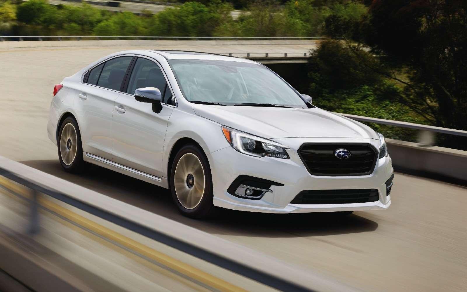 Subaru возвращает вРоссию седан Legacy— фото 816587