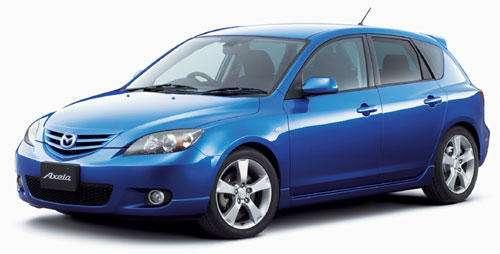 Mazda Axela стала