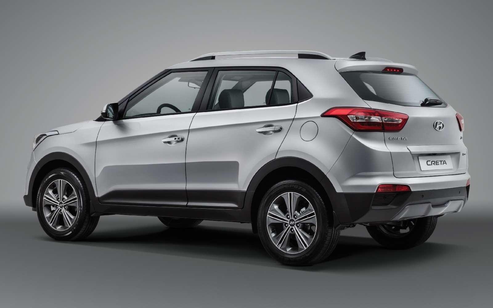 Пошел вмассы: вРоссии стартовало производство кроссоверов Hyundai Creta— фото 614321