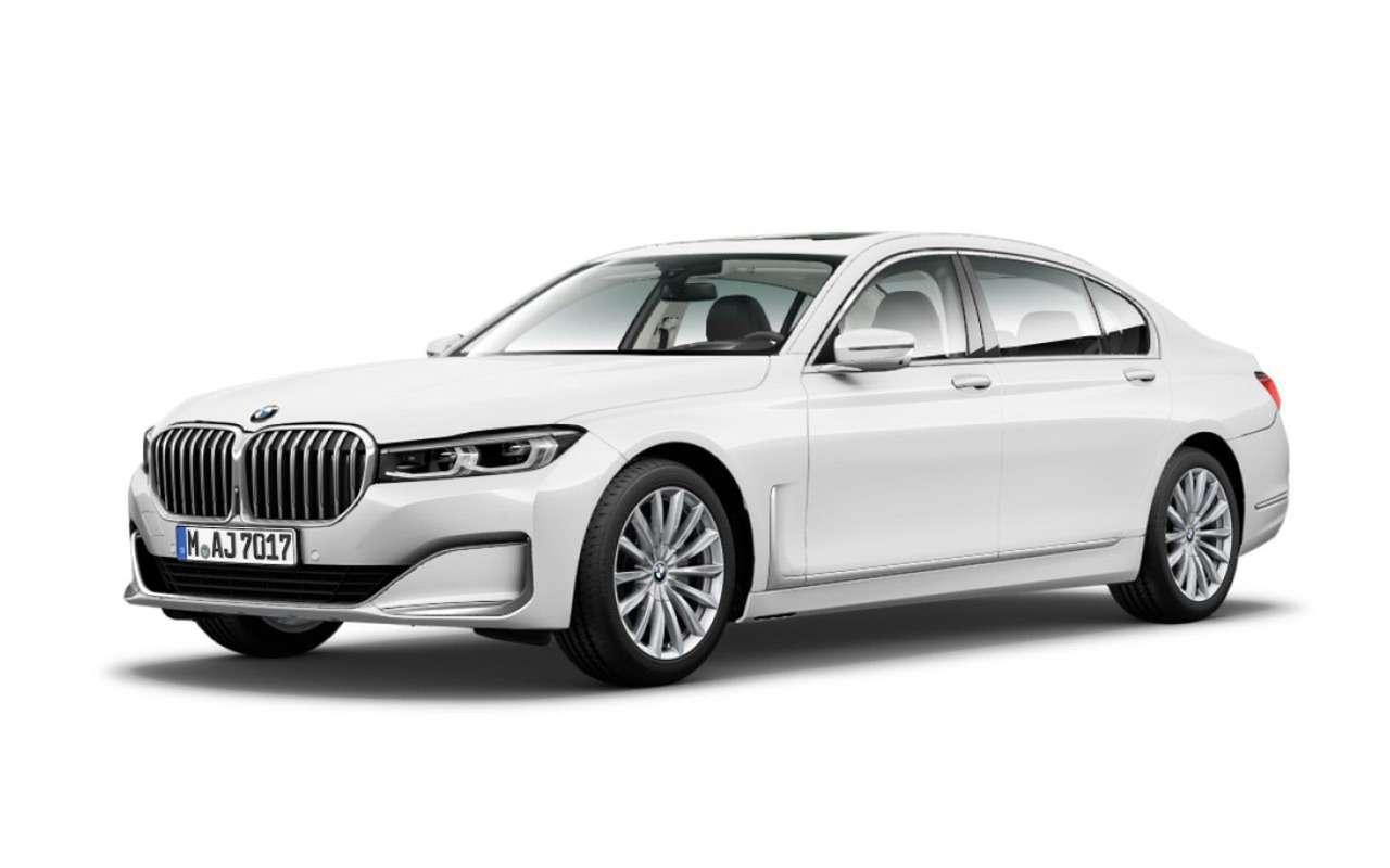 Обновленную «семерку» BMW рассекретили допремьеры— фото 938717