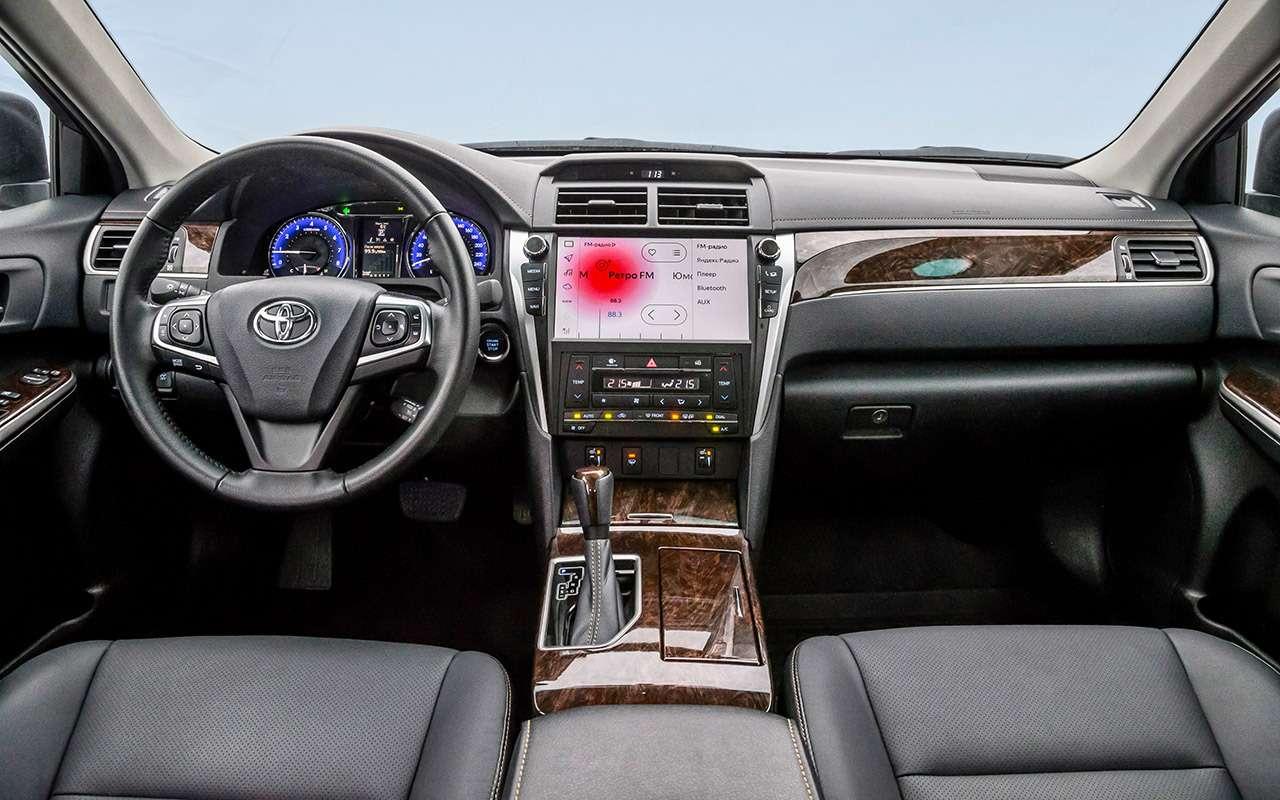 Hyundai Sonata против конкурентов— большой тест ЗР— фото 834916