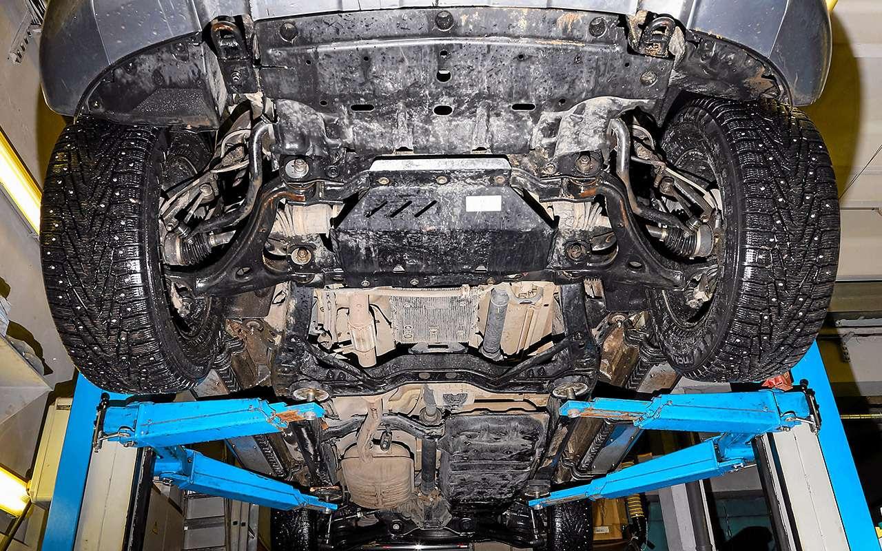 Toyota Fortuner, Mitsubishi Pajero Sport, Kia Mohave  — супертест — фото 855675