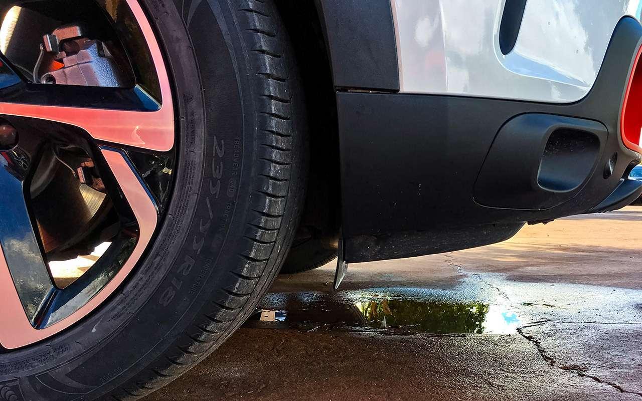 Новый французский кроссовер: суровый тест чудо-подвески— фото 952843