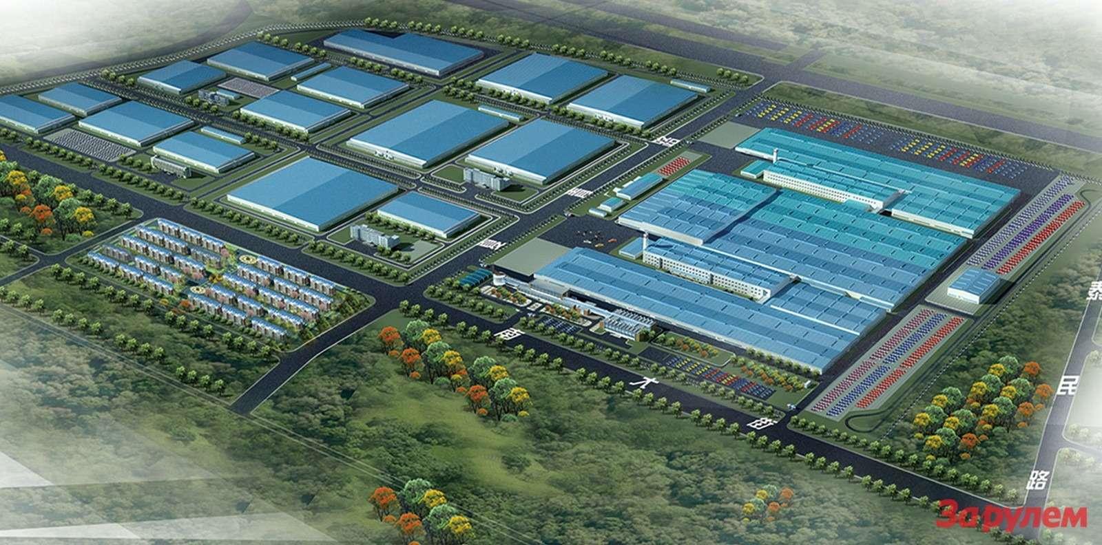 Tianjin-Base-of-Great-Wall-Motors