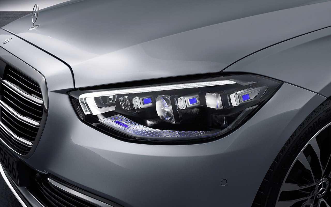 Новый Mercedes-Benz S-Класса наведет порядок дома— фото 1164313