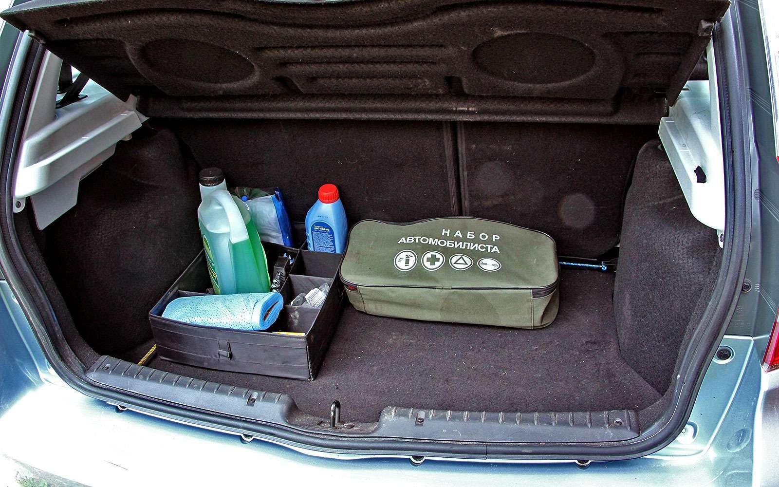 Datsun mi-DO: меняем лампы иперевозим велосипед— фото 768371