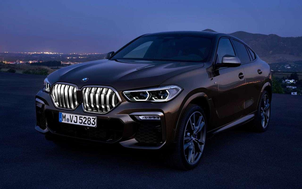 Новый BMW X6светится втемноте— фото 983967