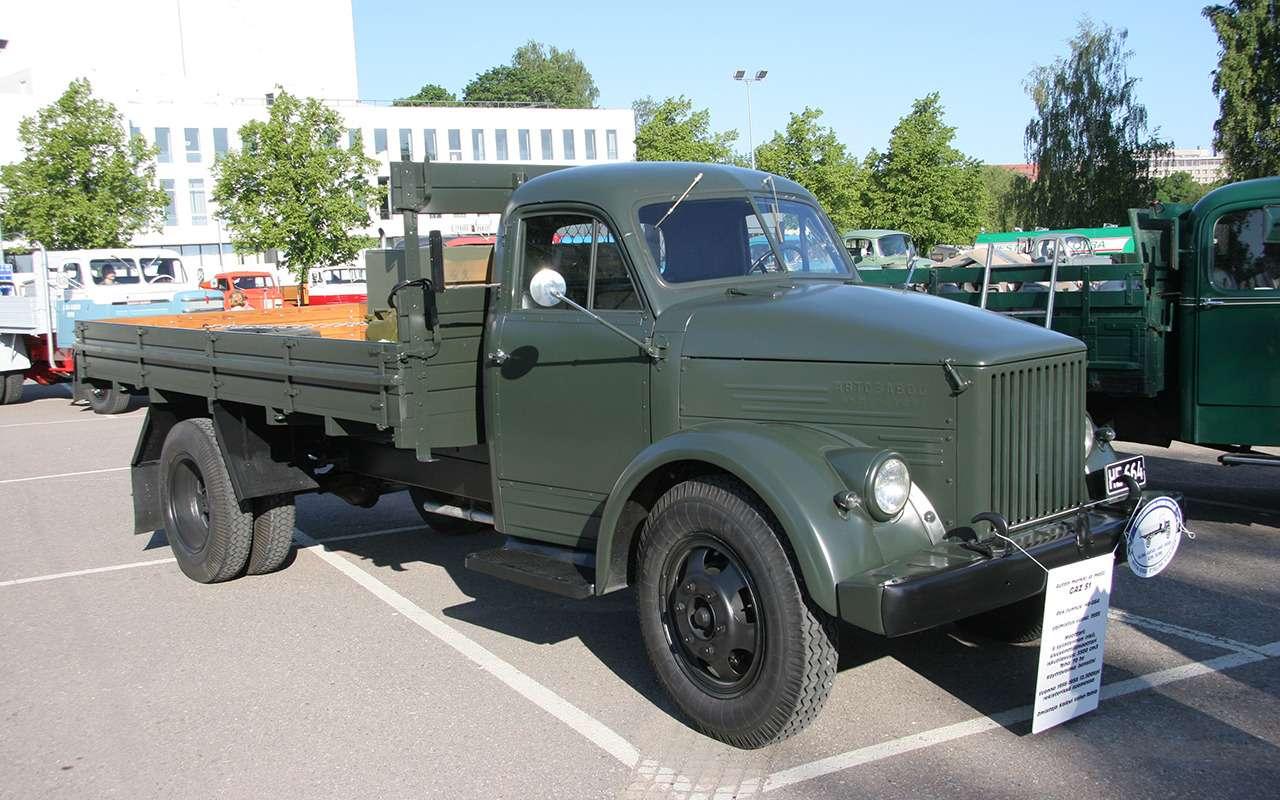 Самый популярный грузовик СССР— такого ГАЗ-51вы невидели— фото 961767