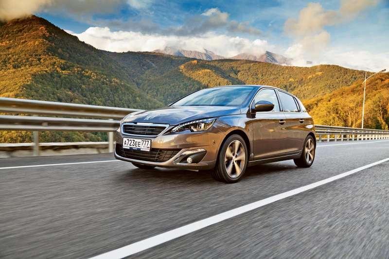 Сравниваем Peugeot 308 2013 с предшественником — журнал За рулем 68e868399b4