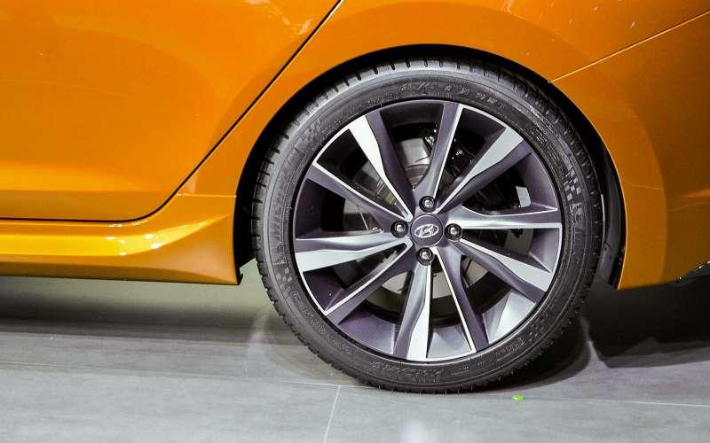 18-дюймовые диски Hyundai Solaris