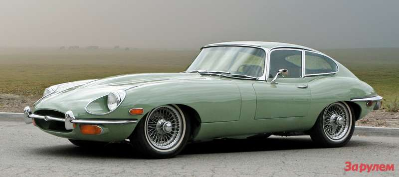 1969 Jaguar E-Type Series II 4.2-Liter Fixed Head Coupe