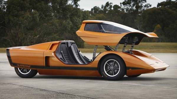 Restored Holden Hurricane