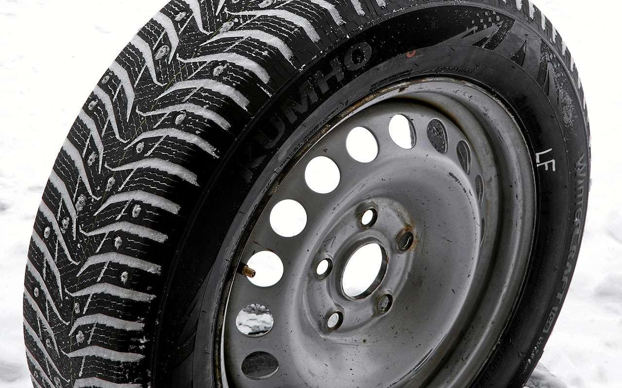 Шипованные шины 185/65R15для бюджетных автомобилей— тест «Зарулем»— фото 794351