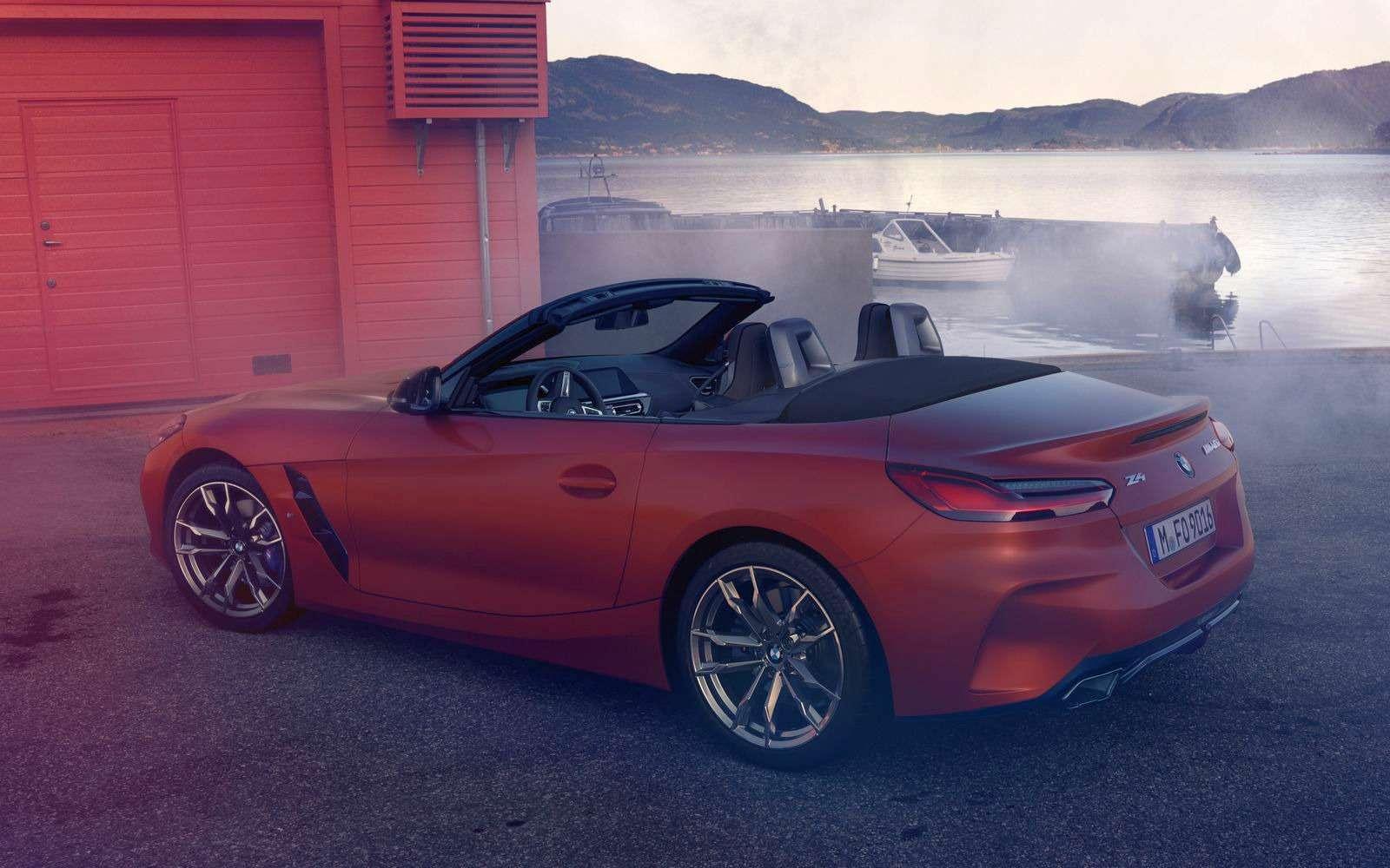 Новый родстер BMW Z4представлен официально— фото 898541