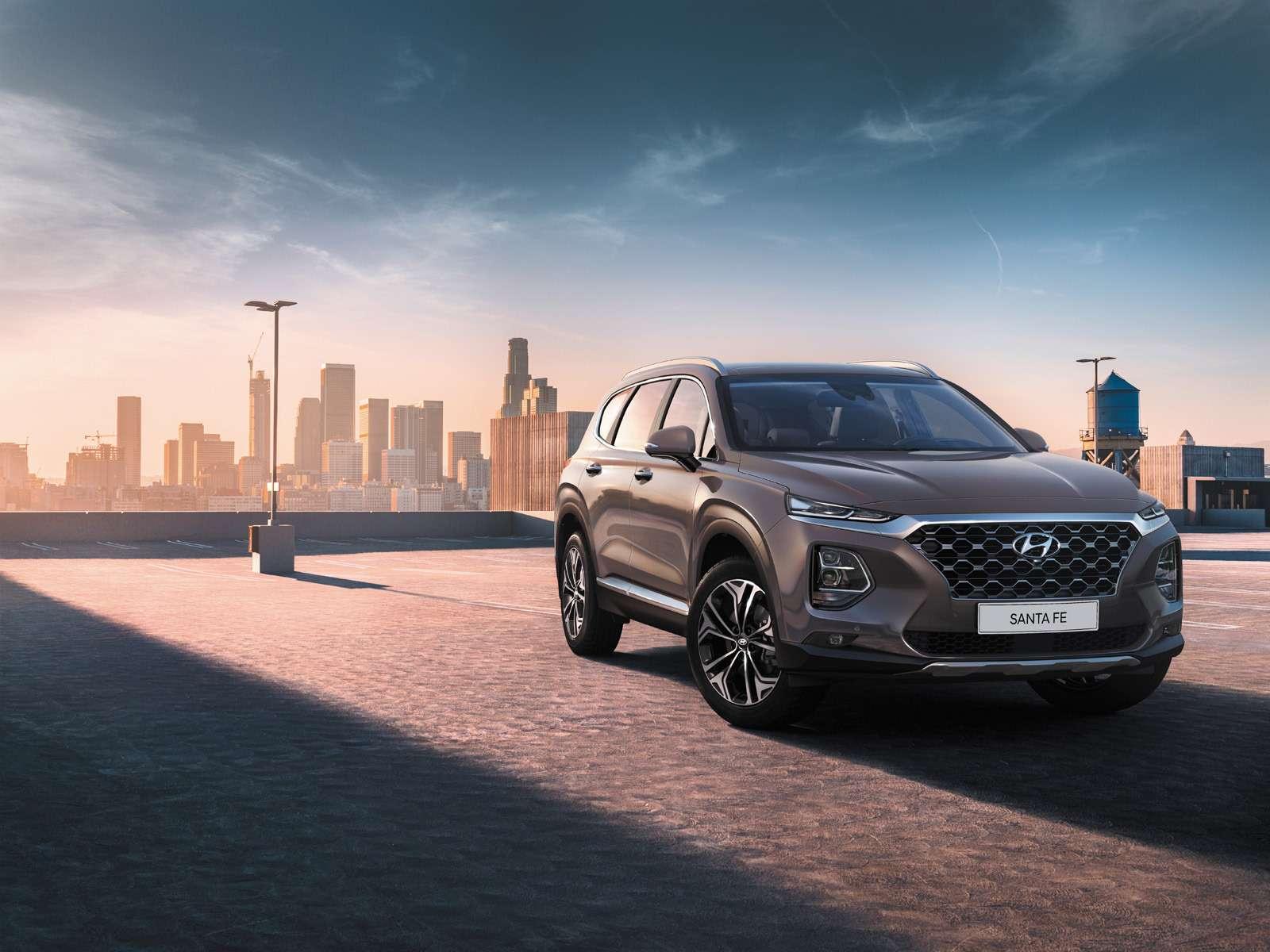 Новый Hyundai Santa Fe: российские цены икомплектации— фото 893463