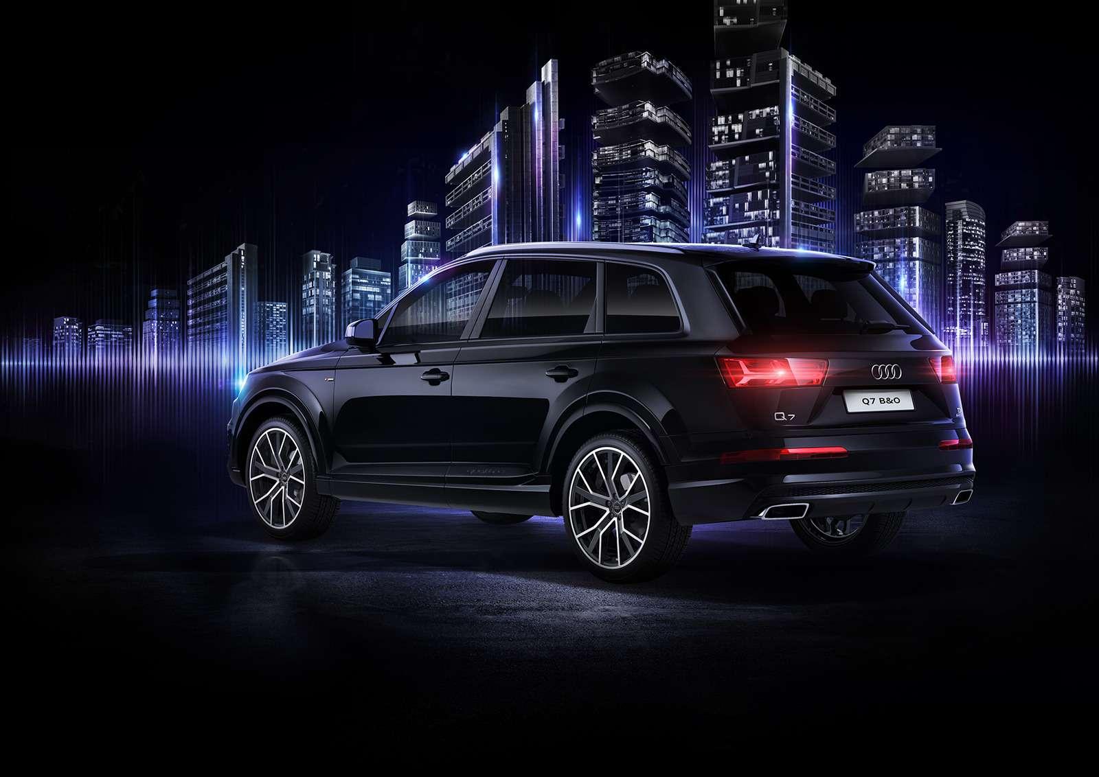 Audi Q7получил спецверсию дляроссийских меломанов— фото 783189