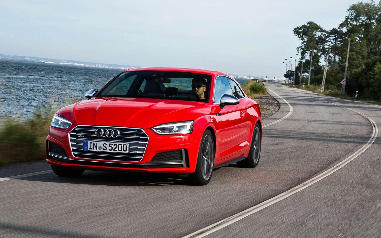 Тест Audi A5Coupe: пока небеспилотник— фото 631308