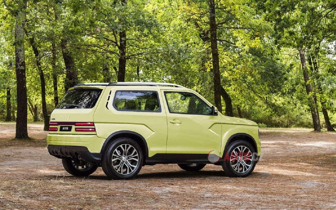 Новые рендеры следующего поколения Lada 4x4 Niva— фото 1119821
