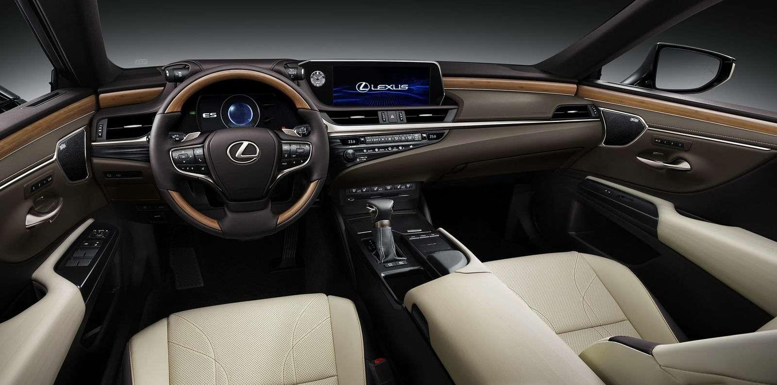 Новый Lexus ES: без полного привода итурбомоторов— фото 865667