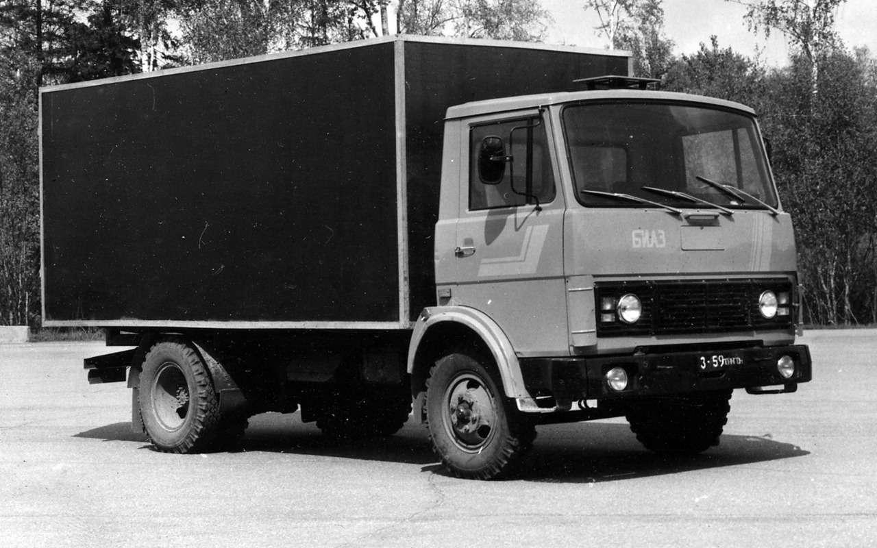Наши грузовики, которых выникогда не видели— фото 875244