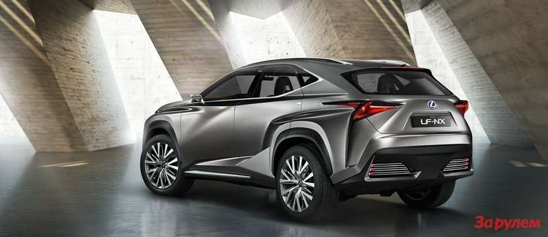 Lexus LF NX 3qback low res