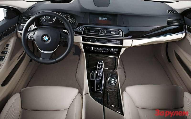 Интерьер BMW 5