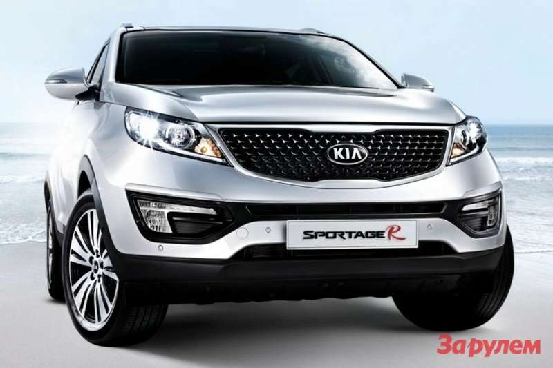 Facelifted Kia Sportage