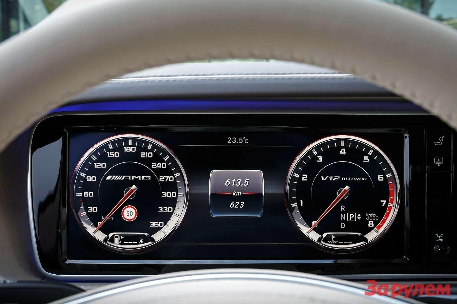 Новый Mercedes-Benz S65AMG