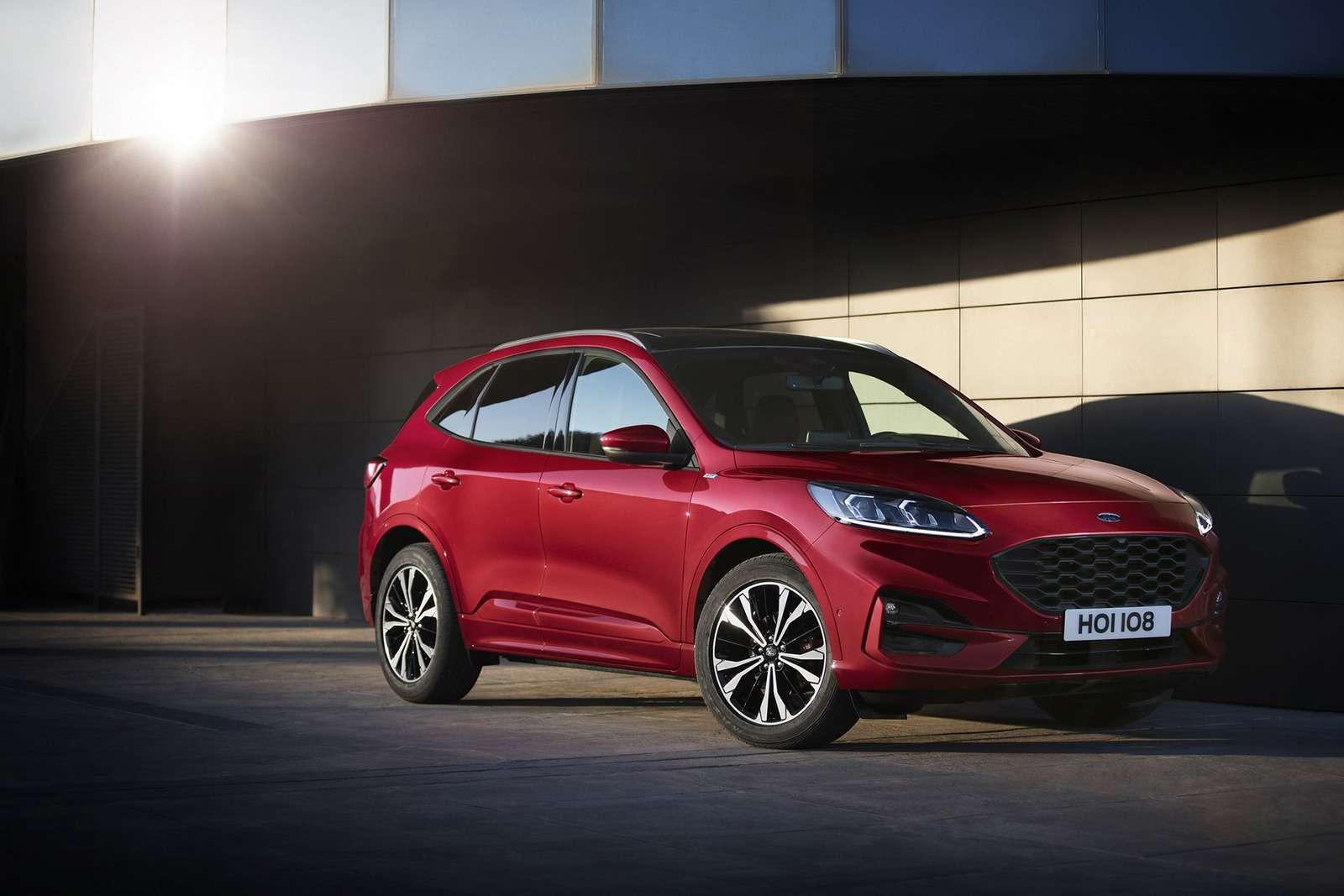 Ford показал новую Kuga. Красивая, мощная, экономичная. Недлянас— фото 962797