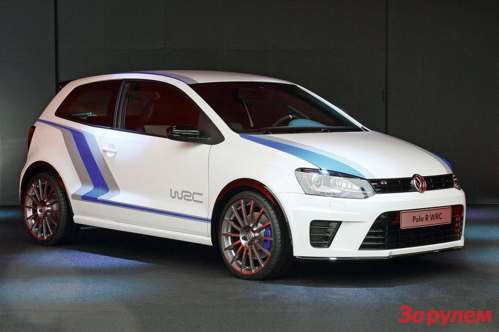 Volkswagen Polo RWRC Street Concept side-front view