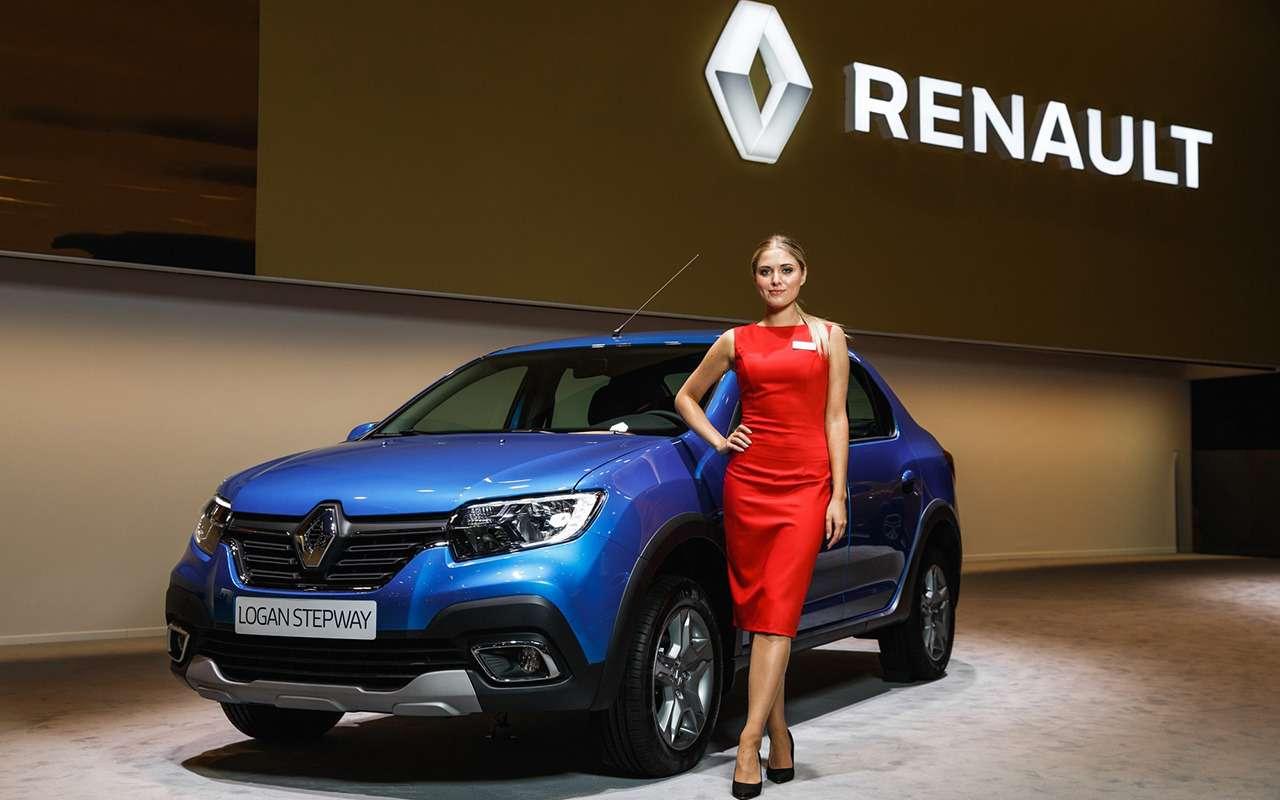 Renault Logan Stepway или Sandero Stepway: что выбрать?— фото 916703