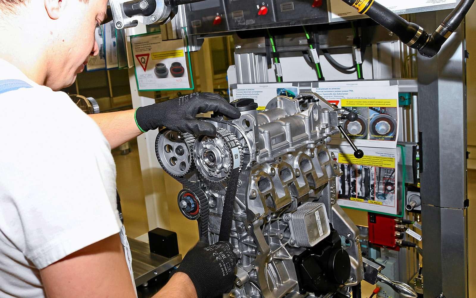 Мотор Volkswagen ЕА2111.6MPI: сорваться сцепи ипойти подраспил— фото 703532