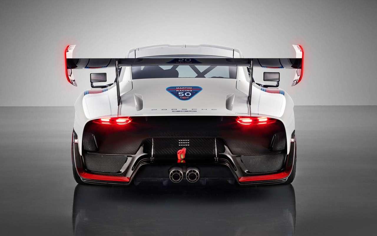 Возвращение Моби Дика: Porsche возродила легендарную модель— фото 911402