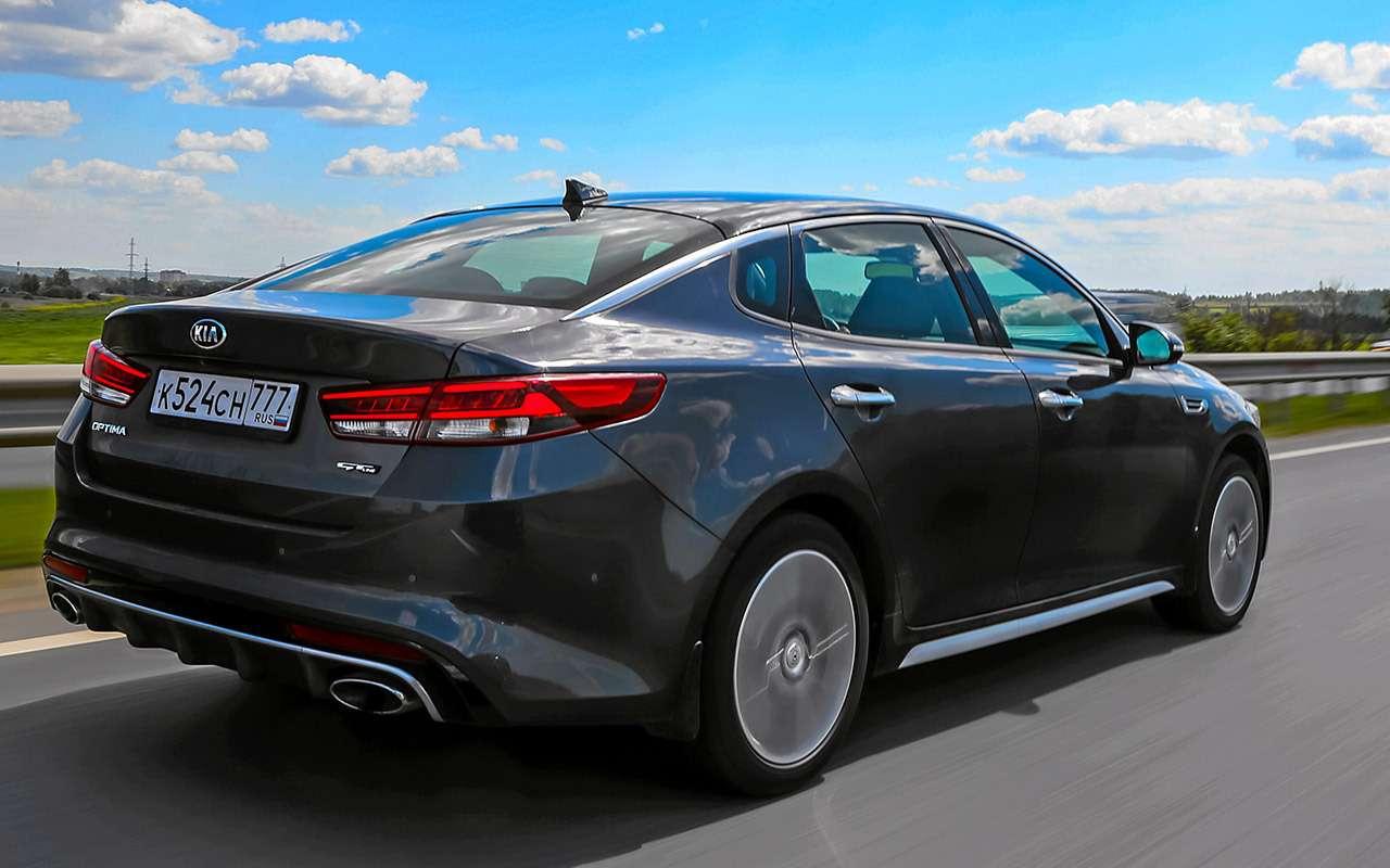 Toyota Camry против конкурентов— сравнительный тест— фото 882450